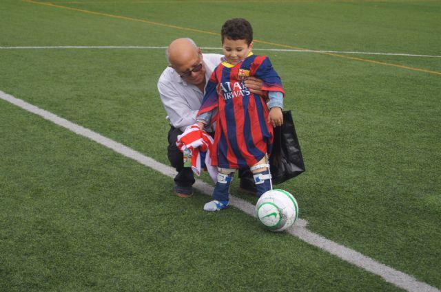 La corporación de Totana se enfrentó a la alhameña en un partido de fútbol, Foto 2