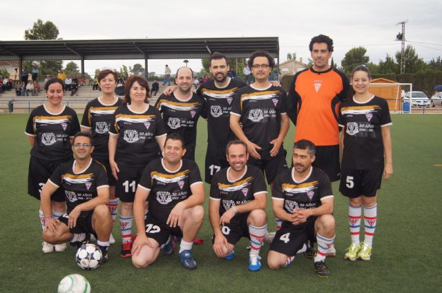 La corporación de Totana se enfrentó a la alhameña en un partido de fútbol, Foto 3
