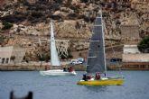 La regata Cartagena-Portmán triunfa entre los mejores de la vela