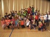 La concejal�a de Deportes llev� a cabo la entrega de trofeos de la fase local de multideporte, baloncesto, balonmano y futbol sala, de Deporte Escolar