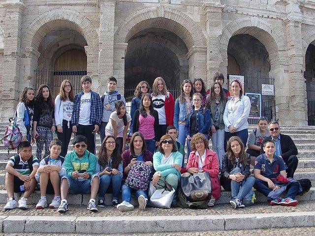 """Intercambio del IES Prado Mayor con el Collège """"Les Fontaines"""", Bouillargues (Nîmes), Foto 1"""