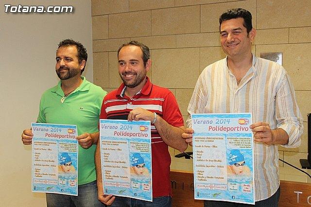"""Se presenta el programa """"Verano Polideportivo´2014"""", que incluye escuela de verano bilingüe y actividades para adultos, Foto 2"""