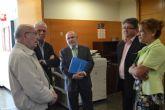 El alcalde de Los Alcázares solicita al Ejecutivo murciano que apoye los actos del Centenario de la Base 2015