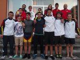 Dos piragüistas pinatarenses ganan el campeonato de España Infantil y Cadete