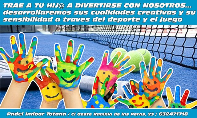 Padel Indoor Totana organiza una Escuela de Verano dirigida a niños de 4 a 12 años, Foto 3