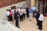El Sr. Obispo visita la Casa de Apostolado Jesucristo Redentor en Santiago de la Ribera