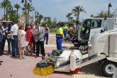 El servicio de limpieza viaria mejora con la incorporación de nueva maquinaria