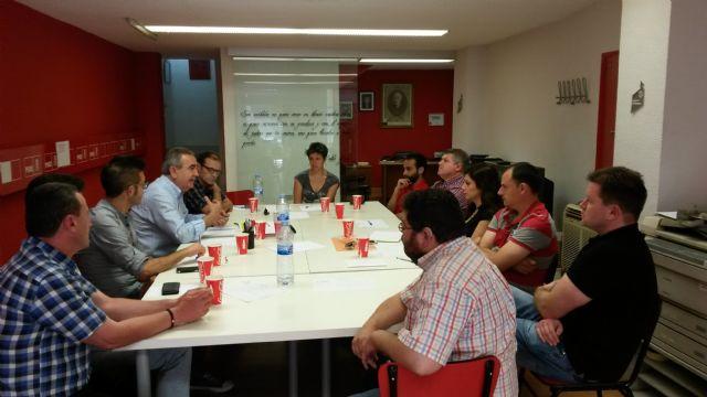 González Tovar afirma en Caravaca que la gente ya está manifestando su voluntad de que haya un cambio político en la Región - 1, Foto 1