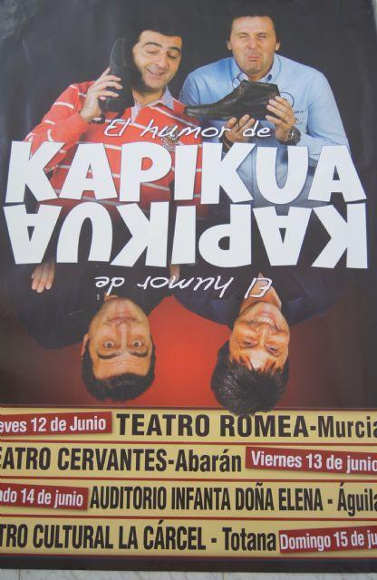 "Totana hosts this Sunday 15 June, the comedy show ""The humor Kapikua"""