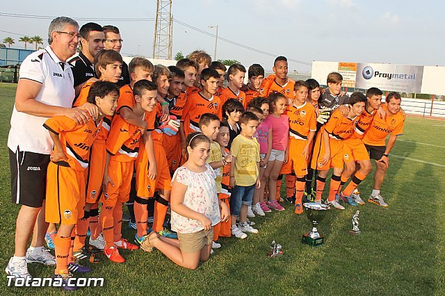"Valencia CF, winner of the Children XIII Football Tournament ""Ciudad de Totana"""