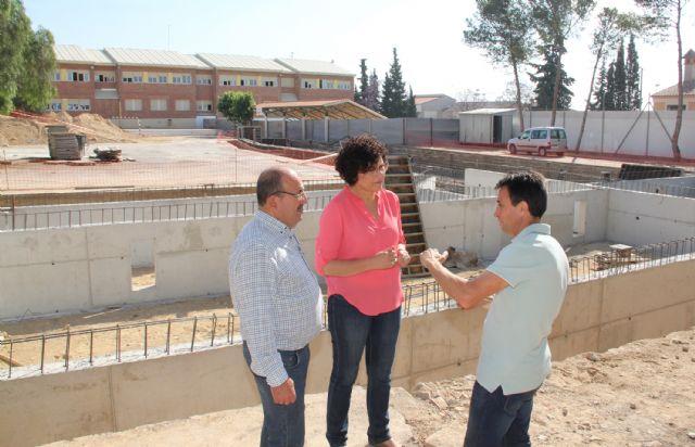 Comienzan las obras de la nueva guardería pública junto al Colegio Público Asunción Jordán de Puerto Lumbreras - 1, Foto 1