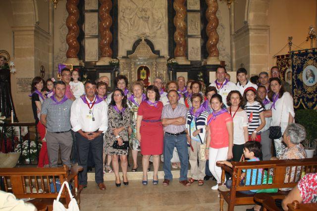 Autoridades municipales acompañan a la Hdad. de la Ver�nica al encuentro-peregrinaci�n nacional de hermandades y cofrad�as de la Ver�nica, Foto 3