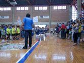 Alcantarilla acogió ayer la clausura de la III edición de la Liga Interescuelas de Fútbol Sala de la de la FFRM
