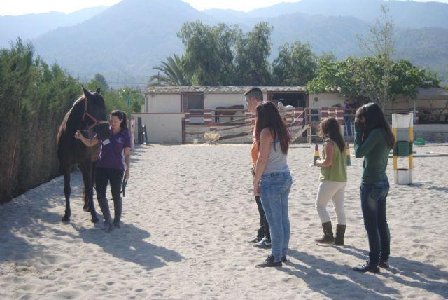 Alumnos del aula ocupacional de Totana finalizan su formaci�n complementaria, Foto 1