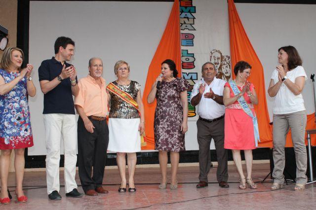 Clemente García y Ana María Tort, elegidos Reyes en la XXIV Semana de los Mayores, Foto 1