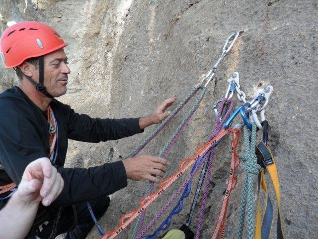"""El escalador totanero José Miguel Gómez Poveda, en la Revista """"Desnivel"""" de este mes de junio, Foto 2"""