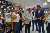 El concejal de Comercio inaugura una Feria de Alimentos de la Comarca en Supercosta