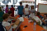 Juegos infantiles, vehículos antiguos y oficios locales en la I Feria de Tradiciones de San Pedro del Pinatar