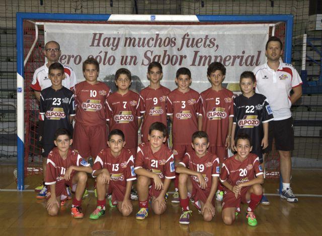 Los equipos Benjamín Alevín y Cadete Aljucer ElPozo FS, en las fases finales del Campeonato de España - 1, Foto 1