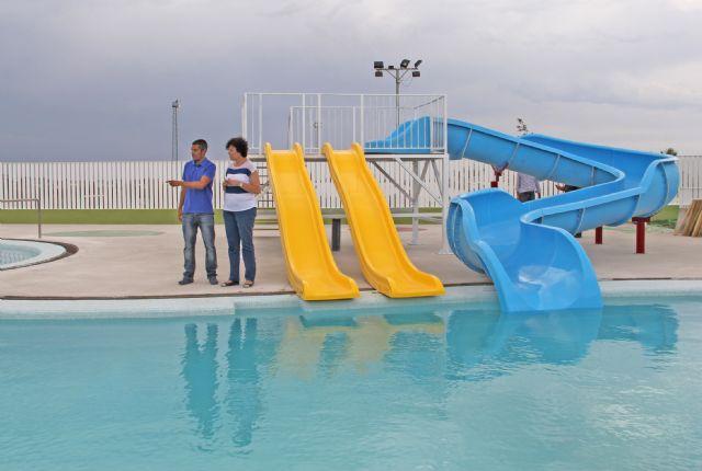 Puerto Lumbreras inaugura el próximo fin de semana sus nuevas piscinas municipales de verano en el polideportivo municipal - 1, Foto 1
