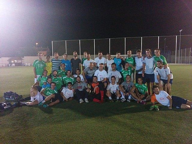 Totana Veterinary champion soccer tournament benefit PADISITO 7