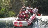 La Asociación Cultural 'El Cañico' organiza una jornada para disfrutar del descenso en rafting por el río Segura
