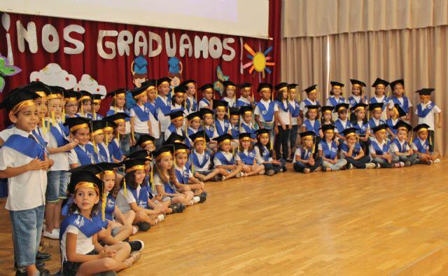Más de 1.500 escolares de Puerto Lumbreras celebran sus graduaciones y fiestas fin de curso - 2, Foto 2