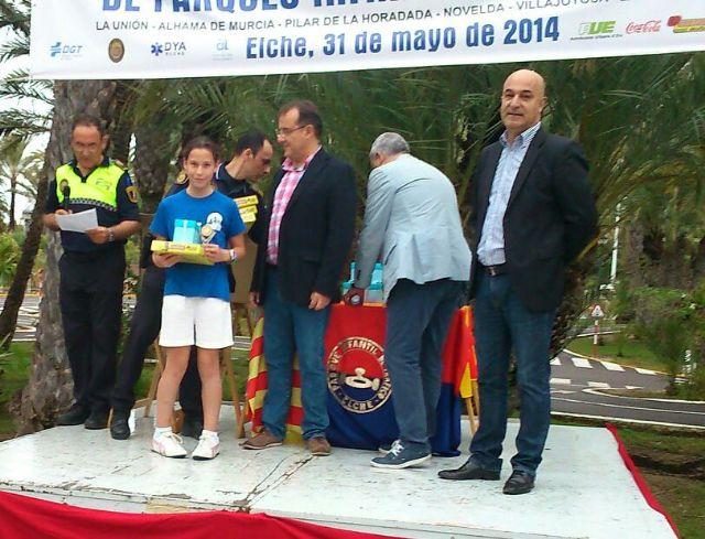 Los niños del Parque Infantil de Tráfico, bien situados en la competición de Educación Vial celebrada en Elche, Foto 1