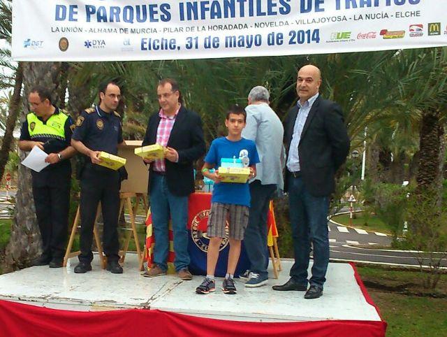 Los niños del Parque Infantil de Tráfico, bien situados en la competición de Educación Vial celebrada en Elche, Foto 2