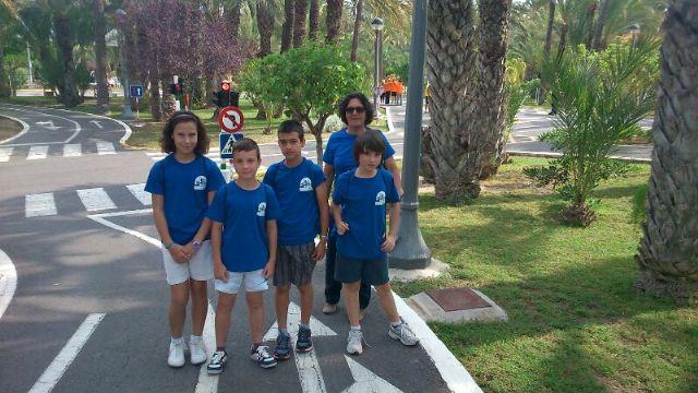 Los niños del Parque Infantil de Tráfico, bien situados en la competición de Educación Vial celebrada en Elche, Foto 5