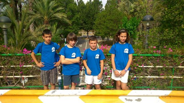 Los niños del Parque Infantil de Tráfico, bien situados en la competición de Educación Vial celebrada en Elche, Foto 6