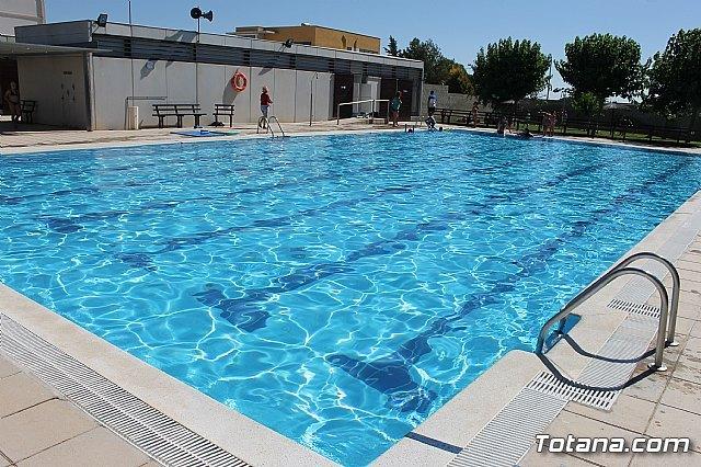 "Tomorrow, Saturday open to public pools Sports Complex ""Guadalentin Valley"" of El Pareton"