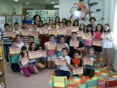 Más de 200 escolares de Puerto Lumbreras han participado en el concurso 'Detectives de Biblioteca'