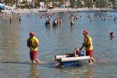 El municipio de San Javier estrena verano con más playas accesibles