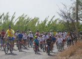 Más de medio millar de personas pedalean en el XVII BiciAlguazas