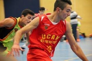 The totanero Aaron Lopez Jimenez, a promising young basketball