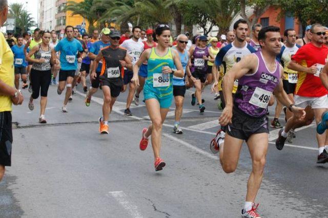 Atletas del Club Atletismo Totana participaron en la Carrera popular de San Juan – barrio de la Viña – Lorca
