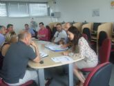 Los ediles de Industria y Fomento del Empleo se reúnen con las asesorías-gestorías del municipio