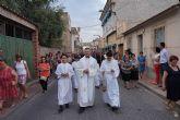 La procesión del Corpus no faltó a su cita en Las Torres de Cotillas