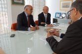 El presidente Garre realiza su primera visita oficial a Las Torres de Cotillas