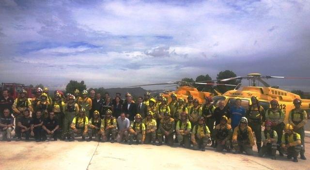 El Plan Infomur dispone de 443 personas para afrontar la temporada de peligro alto de incendio forestales, Foto 2