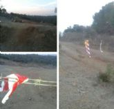 IU-Verdes alerta de la existencia de caminos cortados con alambre de espino en el Cabezo de la Jara