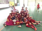 El equipo Alevín Aljucer ElPozo FS, Campeón de España por tercera vez consecutiva