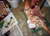 La Guardia Civil decomisa numerosos productos cárnicos no aptos para el consumo humano