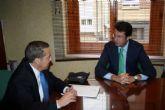 El consejero de Industria, Turismo, Empresa e Innovación, Juan Carlos Ruiz, ha visitado Alcantarilla