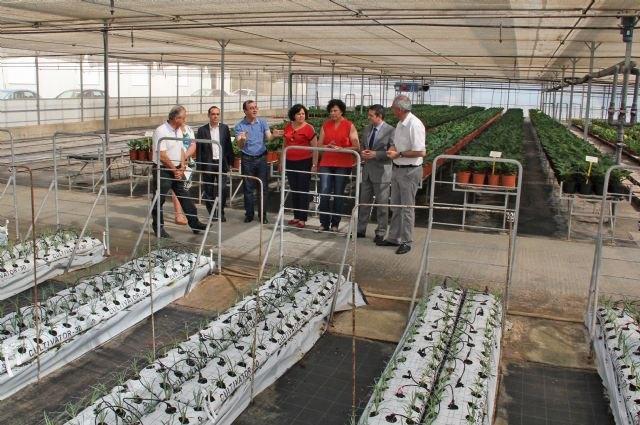 Educación y el Ayuntamiento de Puerto Lumbreras trabajan con Barberet & Blanc para implantar la FP Dual relacionada con el sector de la floricultura - 1, Foto 1