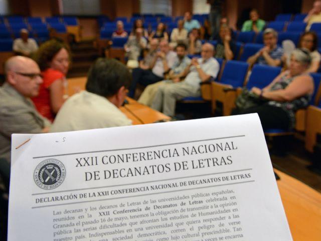 Los decanos de Letras hacen un llamamiento en defensa de las Humanidades - 2, Foto 2