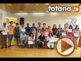 Miralles destaca la labor realizada por la Asociación 'El Candil' en Totana con personas en riesgo de exclusión
