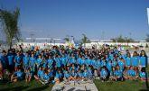 La Alcaldesa clausura el curso 2013-2014 de la Escuela de Tenis de Puerto Lumbreras