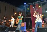 El rock de La Guardia anima las barracas populares en las fiestas patronales de San Pedro del Pinatar